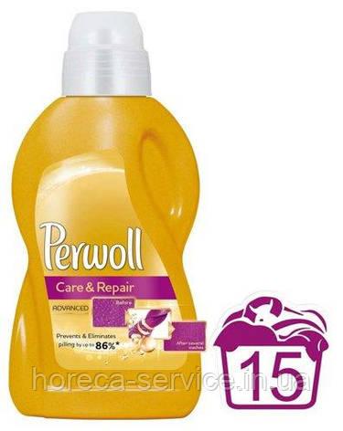 Средство гель для деликатной стирки Perwoll Care and Repair 900мл, фото 2