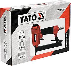 Степлер пневматичний YATO YT-09201, фото 2