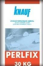 """Клей для ГКЛ """"PERLFIX"""" 30 кг. KNAUF, фото 2"""