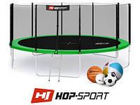Батут Hop-Sport 16 FT (488 см) с внешней защитной сеткой, фото 1