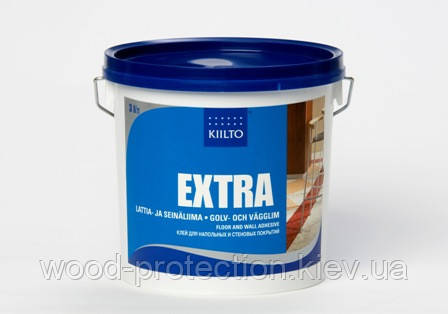 Клей для підлоги і стін Kiilto Extra (Киилто Екстра) 1л.