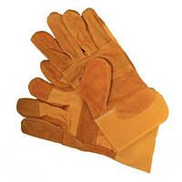 Перчатки замшевые
