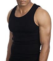 "Майка мужская черная ""Doni"" Турция 100% хлопок XL, фото 1"