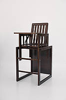 Детский деревянный стульчик-трансформер для кормления Малыш, фото 1