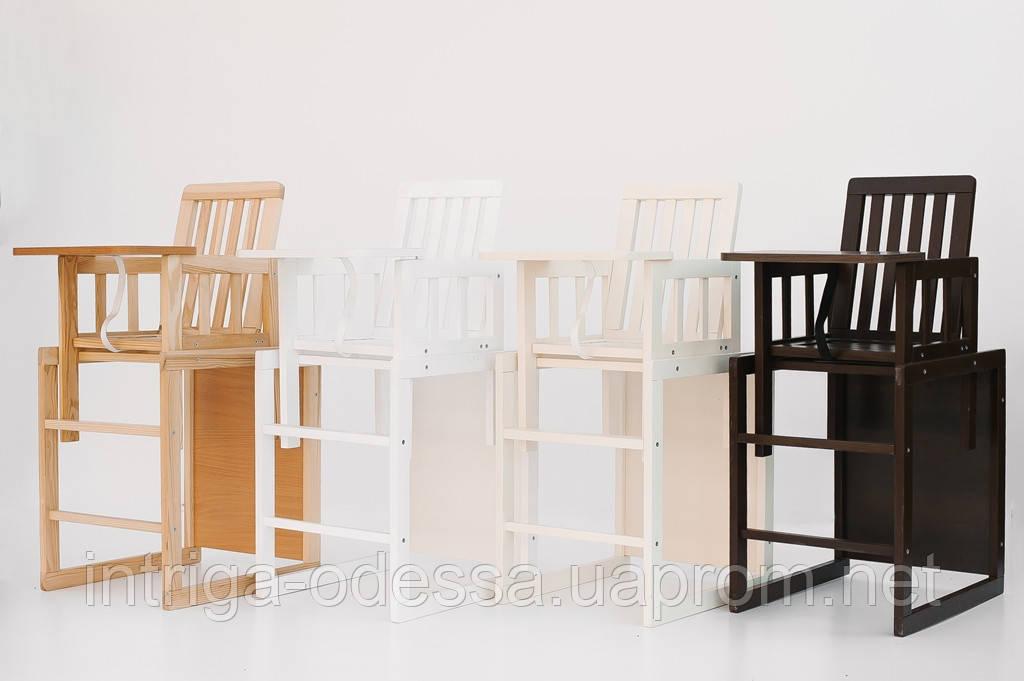 детский деревянный стульчик трансформер для кормления малыш продажа цена в одессе детские стульчики для кормления от интернет бутик интрига