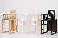 Детский деревянный стульчик-трансформер для кормления Малыш , фото 1
