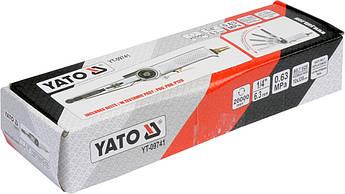 Ленточная пневмошлифмашина 10х330мм YATO YT-09741, фото 2