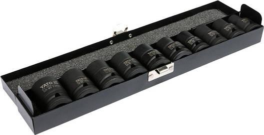"""Головки торцеві ударні 1/2"""" для гайковерта YATO YT-1025, фото 2"""