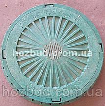 Люк каналізаційний 3т зелений