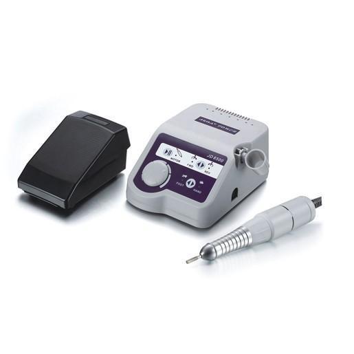 Профессиональная фрезерная машинка для аппаратного маникюра и педикюра Simei JD8500 серый 35000 об.м.