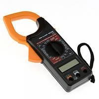 Мультиметр, тестер, токовые клещи Digital Tech DT-266, фото 1