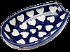 Подставка под ложку овальная керамическая Spoon S