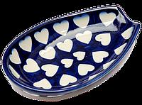 Подставка под ложку овальная керамическая Spoon S, фото 1