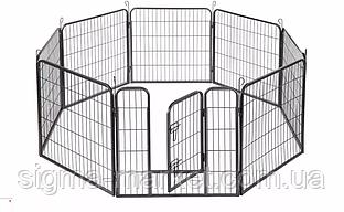 Огорожа для собак FARM COURT 80x80см металлическая Модулированная