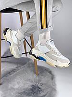 Женские кроссовки Balenciaga Triple S 2.0 blue white
