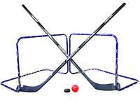 Хоккейный флорболл FISCHER 2 IN 1 GAME SET ЛЕТО + ЗИМА, фото 1