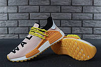 Мужские кроссовки Adidas x Pharrell Williams Human Race NMD, Реплика ТОП, фото 1