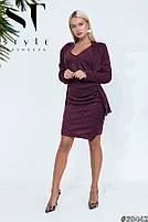 Элегантное платье из ангоры с кардиганом в комплекте размеры 42-54, фото 4
