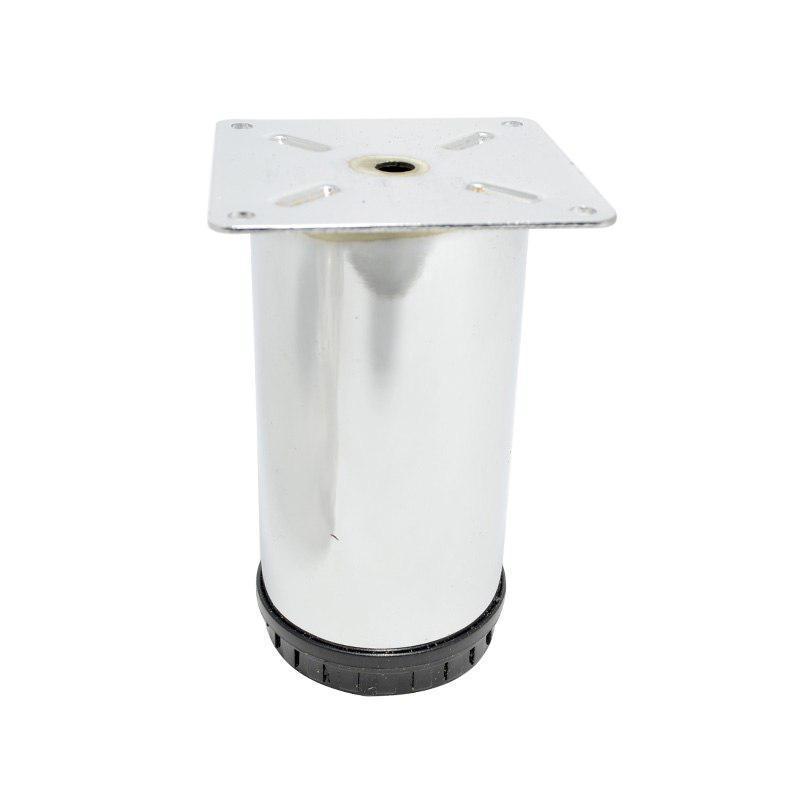 Ножка/Опора регулируемая Kapsan D=60, H= 120мм, Хром