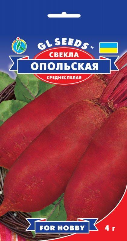 Свекла Опольская, пакет 4г - Семена свеклы