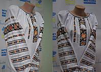 """Блузка вишита з мережкою """"Жовті братчики"""", фото 1"""