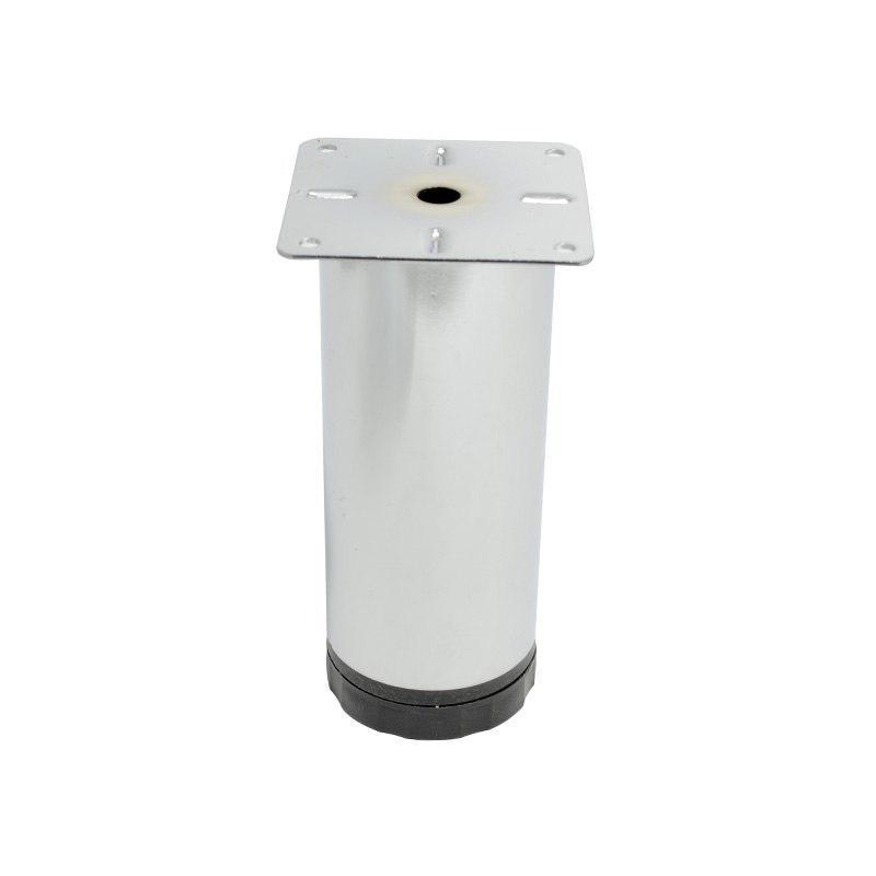 Ножка/Опора регулируемая Kapsan D=60, H= 150мм, Хром