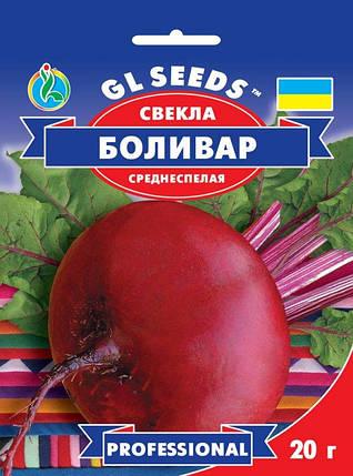 Свекла Боливар, пакет 20г - Семена свеклы, фото 2
