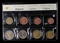 Набор монет Кипра 2015 г.