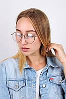 Лаконичные очки с бусинкой на дужке