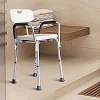 Kресло ортопедическое для душовой кабинки с подлокотниками HOMCOM, фото 1