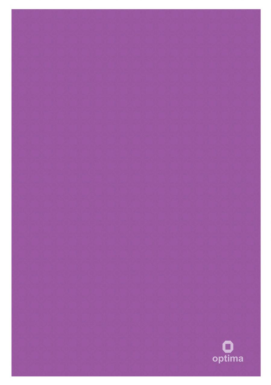 Папка куточок А4 Оптима, 180 мкм, фактура, Вишиванка, фіолетова O35120-12