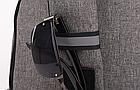 Сумка - рюкзак через плечо с кабелем USB, фото 10