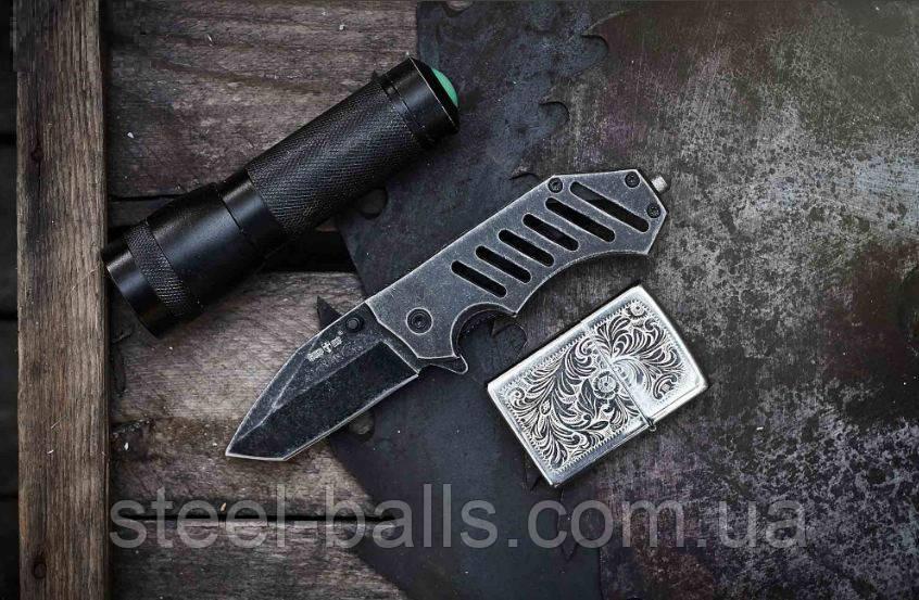 Складной нож с клипсой