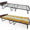 Розкладне ліжко на сталевій сітці Vista «Адель-80» 200х80х33 див.