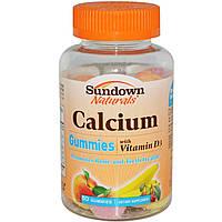 Жевательный кальций, Rexall Sundown Naturals, 50 таблеток