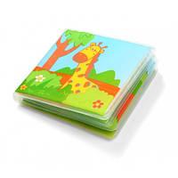 Мягкая книжка с пищалкой Дикие животные BabyOno 887