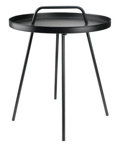 Столик IDRE Ś45xW42 черный