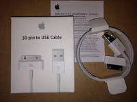 Кабель Apple Dock Connector to USB 2.0 (for iPod/iPad/iPhone) (MA591FE/C)