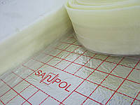 Демпферная лента Sanpol 150мм х 5мм х 50м