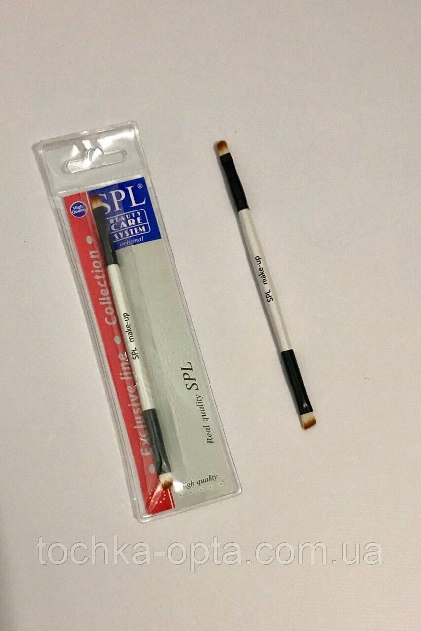 Кисточка для макияжа двусторонняя SPL