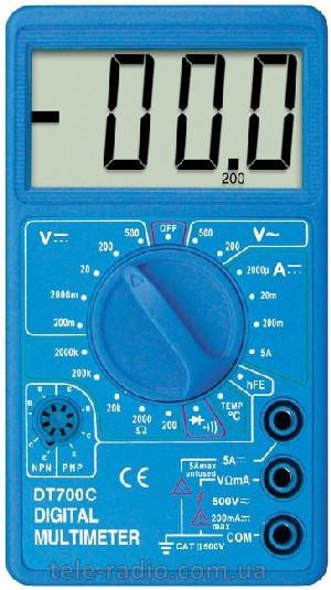 Мультиметр DT 700C