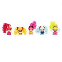 "Набор с куклами КРОШКАМИ  LALALOOPSY серии ""Кудряшки-симпатяшки"" -  ВЕСЕЛЫЕ ПОДРУЖКИ  (5 кукол)"