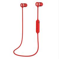 Беспроводные Bluetooth наушники Гарнитура с микрофоном Красный цвет