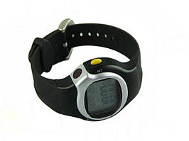 Спортивные часы Пульсометр со счетчиком калорий  Черный