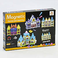 Конструктор магнітний Замок 58 деталей Magnetic AQ 909