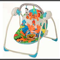Кресло-качели Bambi M 3241 Тропический лес