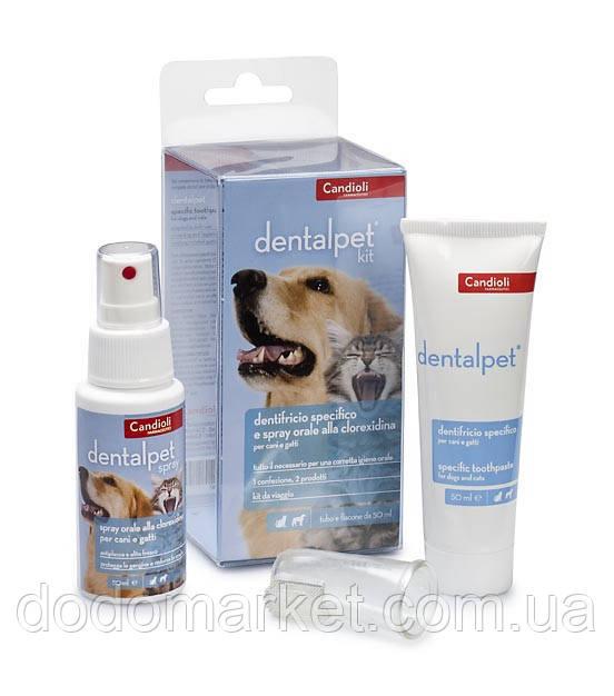 Дорожный набор для ухода за ротовой полостью Candioli DentalPet Kit