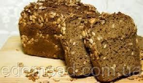 """Хліб з насінням цільнозерновий пшенично-житній """"Вітамін"""", 500г"""