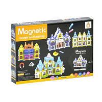 Конструктор магнітний Замок 75 деталей Magnetic AQ 906