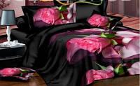 Комплект постельного белья из ранфорса Ночная роза